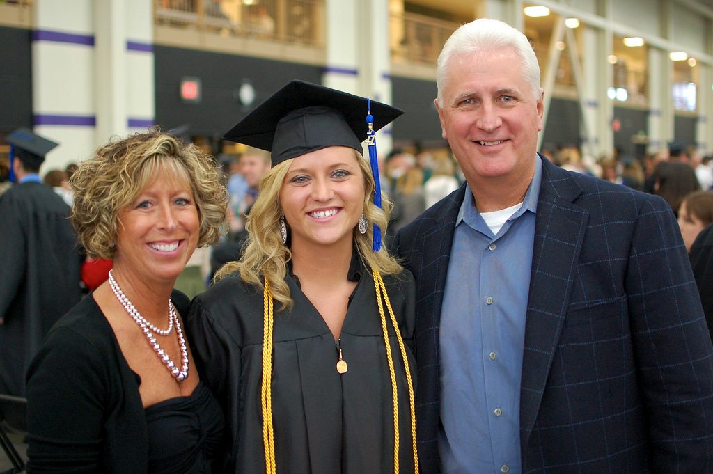 Kalie graduated from UW-Whitewater on Saturday - welcome to the real world, Little K!
